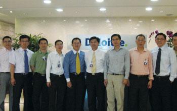 上海康桥工业区-国际医学园-阿联酋迪拜, 新加坡政府考察团